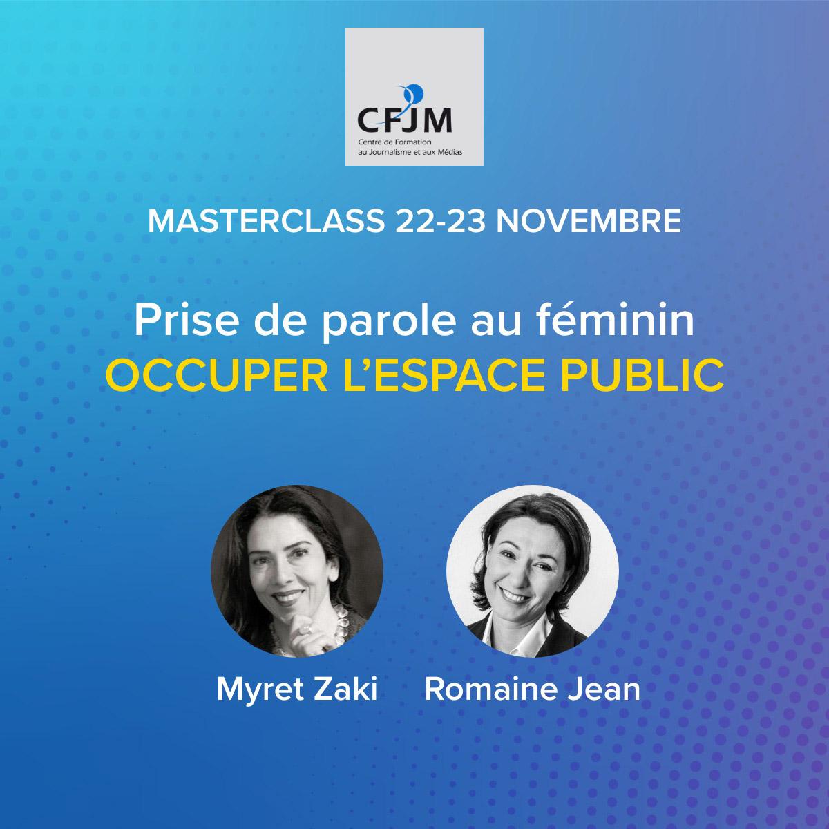 Stage de prise de parole au féminin – 2ème édition 2021